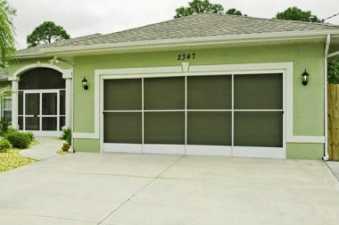 Garage Door Enclosures